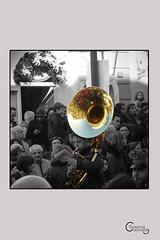 Volti intrisi di tradizione popolare (Sisa88) Tags: banda campania gente bn musica trombone festa cultura citt ragazzo processione religione torredelgreco tradizione immacolata