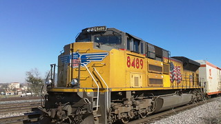 union pacific freight train