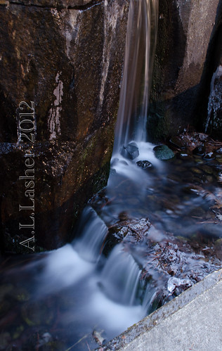 1-14-2012~Waterfall In the Winter