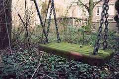 Abandoned swing (Eluna Side) Tags: old urban anna building green art abandoned nature netherlands strange saint architecture vintage dark religious moss europe child darkness decay sony fear neglected nederland atmosphere ivy eerie vert swing retro creepy spooky holy forbidden monastery abandon forgotten urbanexploration horror weathered cloister enfant convent invasion ambience abandonment decayed decaying klooster psy devastation monastre desolation couvent psychiatric mousse lierre ancien urbex balancoire oubli trange abandonn religieux balanoire clotre rtro haikyo sinistre friche lostplace explorationurbaine psychiatrique nex5 elunaside