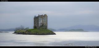 Castle Stalker gloaming