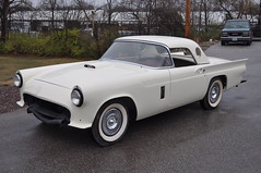 """1957 Ford Thunderbird E Code Dual Quad 312 • <a style=""""font-size:0.8em;"""" href=""""http://www.flickr.com/photos/85572005@N00/6703731975/"""" target=""""_blank"""">View on Flickr</a>"""