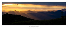 ... the Last sunrise of 2011 ... (liewwk - www.liewwkphoto.com) Tags: above park morning light wild sun plant green nature fauna sunrise canon garden landscape highlands flora day natural outdoor or horizon first foliage malaysia 7d genting tropical rise  pahang ascent   rainforests     liewwk httpliewwkmacroblogspotcom wwwliewwkphotocom