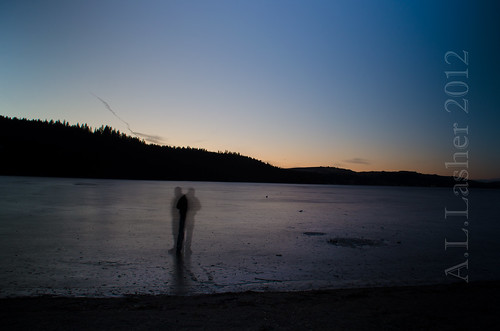 1-15-2012~Ghostly Figure On the Ice