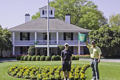 Augusta National Golf Club (Ed Balaun (supergolfdude)) Tags: golf logo augusta clubhouse themasters augustanational bobbyjones pgatour