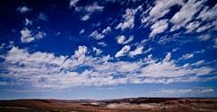 Miles of Sky (kevygee) Tags: travel sky west landscape horizon arches roadtrip archesnationalpark