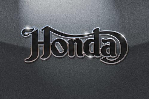 Honda Logo In Norton Script