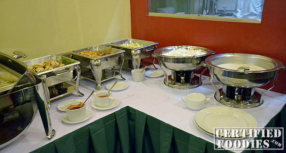 Buffet at Apricot Diner