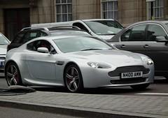 Aston Martin Vantage N400 (kenjonbro) Tags: uk london trafalgarsquare 2008 v8 astonmartin vantage n400 worldcars kenjonbro lightningsilver fujihs10 n400amw
