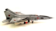 MIG again (psiaki) Tags: airplane lego aircraft union jet soviet interceptor gurevich mik
