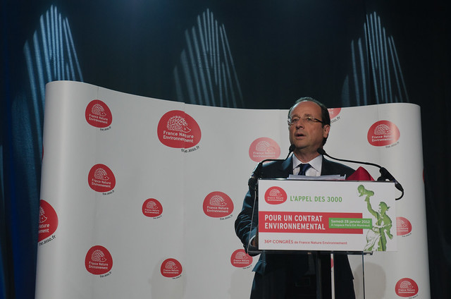 FRANçOIS HOLLANDE au Congrès de France Nature Environnement Montreuil 28/01/2012