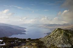 Ben A'an (DMeadows) Tags: winter wild nature clouds scotland heather hill summit loch wilderness hazy trossachs katrine benaan davidmeadows dmeadows davidameadows dameadows yahoo:yourpictures=yourbestphotoof2012