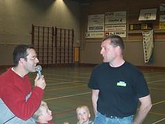 2003 Voorzitter Erik van Faassen in gesprek met tr. D1 Gerrit Grolleman