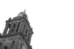 Touching the Sky (LuisLobato) Tags: sky mxico mexico cross catedral ciudad cruz federal distrito mxic