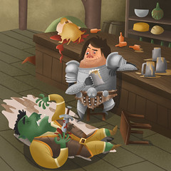Skyrim ( Never tell a hero he's had too much to drink) (James Loram) Tags: bethesda skyrim elderscrollsv elderscrolls5