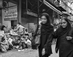 Street - D7K 0895 ep (Eric.Parker) Tags: india market delhi muslim hijab niqab 2012 jamamasjid olddelhi 2011
