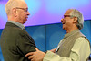 Klaus Schwab, Muhammad Yunus - World Economic Forum Annual Meeting 2012
