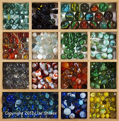 Marbles Sorted (Lisa-S) Tags: ontario canada wooden lisas tray marbles divided brampton sorted invited 1391 soldongetty getty2012 copyright2012lisastokes getty20120209