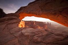 Mesa in the Morning_DSC2917 (antelope reflection) Tags: utah nationalpark canyonlands redrock mesaarch nikond90