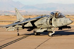 "McDonnell-Douglas AV-8B Harrier II Night Attack BuNo 164128, VMA-513 ""Nightmares"" (Joe_Copalman) Tags: jumpjet av8b 164128"