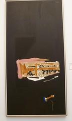 Robert Motherwell - Music Over Music (sftrajan) Tags: sanfrancisco black art deyoungmuseum museum painting modernart motherwell robertmotherwell panasoniclumixdmczs8 feb72012