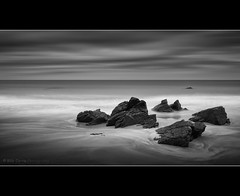 Rocks (Billy Currie) Tags: sea white black mono coast scotland rocks moody og coastline sutherland durness