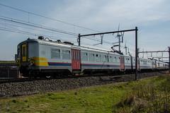 NMBS AM66-616 (Eelco Wisse) Tags: train belgie trein zeebrugge nmbs d5200 am66616