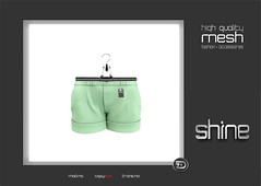 """shine by [ZD] - Mesh """"Laurie"""" Summer Shorts (shine & sharp by [ZD]) Tags: life summer fashion by vintage demo for women shine dress place pants mesh market sommer retro hose sl dresses second marketplace shorts mp laurie boho mode kurze frauen fr kleidung kleid weiblich zd womenswear inworld zddesign"""