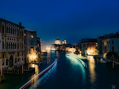 Venice (jim2302) Tags: city longexposure venice light italy holiday water night long exposure olympus trail lightroom nothdr olympusomdem5ii