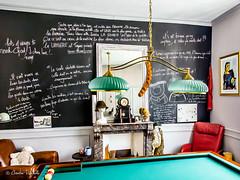 Chez mon Ami Christian ( Christian ...) Tags: tableau billard amiti jeu jeux convivialit