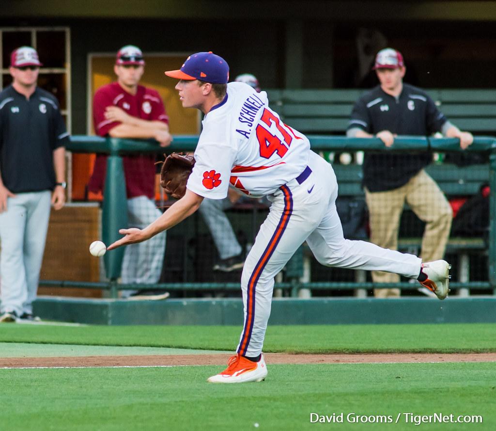 Clemson Photos: Alex  Schnell, 2016, Baseball