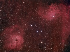 The Tadpoles and the Flame (Astro Gabe) Tags: nebula halpha ic405 ic410 astrometrydotnet:status=solved mach1gto qsi683 tmb92ss astrometrydotnet:id=nova1555514