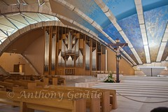 Arch (Anthony Gentile Photos) Tags: italy art church canon photography photo cross pov empty seat famous pipe places christian holy pointofview organ anthony padre gentile pio attractions canonef70200mmf28lis canoneos5dmarkii anthonygentilephotography