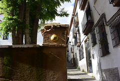 Intra Larue 693 (intra.larue) Tags: street urban art breast arte pit granada urbano teta sein grenade moulding espagne andalousie espagna urbain pecho intra espanya formen seno brust moulage tton andalouzia