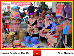 Hmong People of Bac Ha (vicbrasil) Tags: people vietnam hanoi sapa hmong hilltribe cuong hoalu bacha northeastregion northwestregion redriverdeltaregion