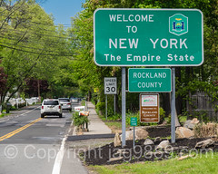 Welcome to New York - The Empire State (jag9889) Tags: auto road usa ny newyork car sign newjersey automobile traffic unitedstates outdoor unitedstatesofamerica transportation vehicle empirestate welcome palisades 2016 rocklandcounty rockleigh jag9889 20160511