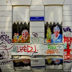 Rotterdam Street art (Akbar Sim) Tags: streetart holland netherlands rotterdam mural nederland rotjeknor akbarsimonse akbarsim