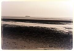 Crosby Beach (3) (bobbex) Tags: sea beach liverpool coast sand gormley crosby merseyside ironmen