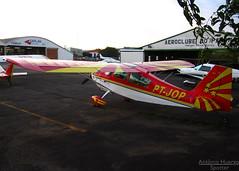 American Champion Aircraft 7GCBC Citabria, PT-JOP (Antnio A. Huergo de Carvalho) Tags: american aca aerobatic aerobatics bellanca citabria acrobtico americanchampionaircraft acrobaciaarea ptjop