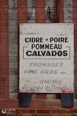 Cidre - Calvados (betak.cz) Tags: old signs france look sign vintage nikon outdoor rusty normandie normandy d800 cedule nikond800 nourmaundie