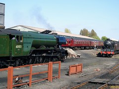 Photo of Flying Scotsman and Morrayshire