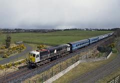 083 on Connolly-Killarney IRRS special near Borris-in-Ossory 09-Apr-16 (metrovick) Tags: railroad railway irishrail cravens emd iarnrodeireann irrs jt22cw borrisinossory ie071class ie083 railwaylaois emdexportloco