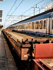 Parma Italy Railway Station (saxonfenken) Tags: pregamesweepwinner railway parma italy train geotagged gamewinner 132trans 132 thumbsup