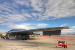 B-2 on static display (JetImagesOnline) Tags: airshow b2 stealth airforce bomber usaf hdr grumman nellis northrop 2011 3xp aviationnation 509thbomberwing