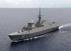 RSS Steadfast Frigate (AC Studio) Tags: singapore war ship rss vessel stealth frigate warship steadfast