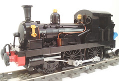 Beattie 2-4-0 Well Tank (bricktrix) Tags: train lego railway