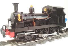 Beattie 2-4-0 Well Tank (bricktrix) Tags: train lego railway