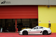 Ferrari 599XX -EXPLORED- (Raphal Belly) Tags: red white black cars car del racetrack rouge photography eos flickr photographie 21 10 corse xx explorer ferrari explore belly exotic 7d enzo passion programs blanche raphael rb evo autodromo supercars clienti noire raphal mugello finali 599 2011 fxx evoluzione programmes mondiali explored egarage 599xx egaragecom