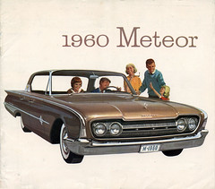 Canadian 1960 Meteor Sales Catalogue. (reidbrand) Tags: canada ford canadian brochure catalogue meteor 1960 montcalm