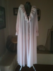 Claire Sandra by Lucie Ann Pink Antron Nylon Ruffled Nightgown Full Length Front (mondas66) Tags: ruffles lace embroidery chiffon lingerie boudoir gown gowns lacy embroidered nylon nightgown frilly nightgowns nightdress ruffle nightwear frills frill ruffled nightie flouncy flounce lacework frilled nighties antron nightdresses flounces lucieann frilling frillings befrilled clairesandra